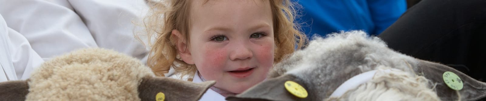 child at Cornwall show