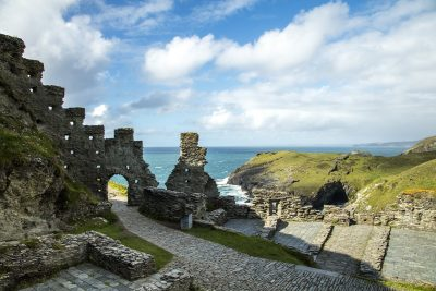 ruins at tintagel
