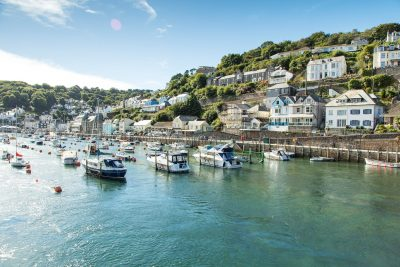 Looe in south Cornwall