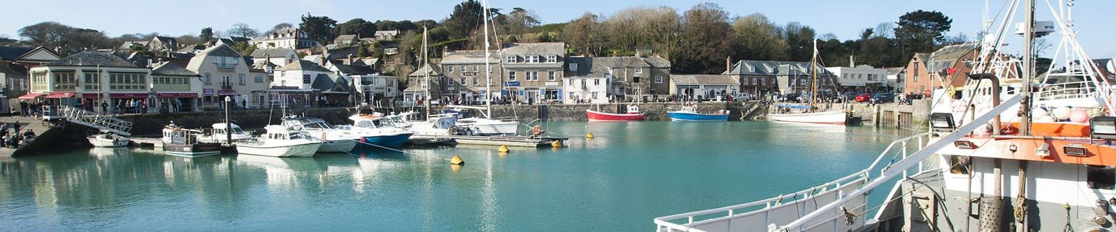 fishing boats in Padstow