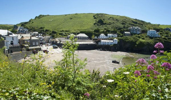 Port Isaac harbour