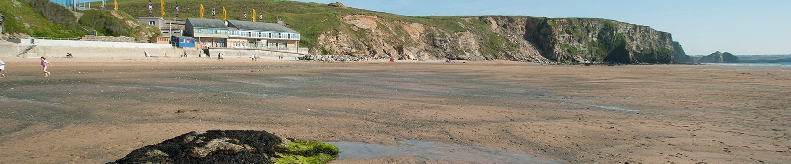 view of Watergate Bay sand