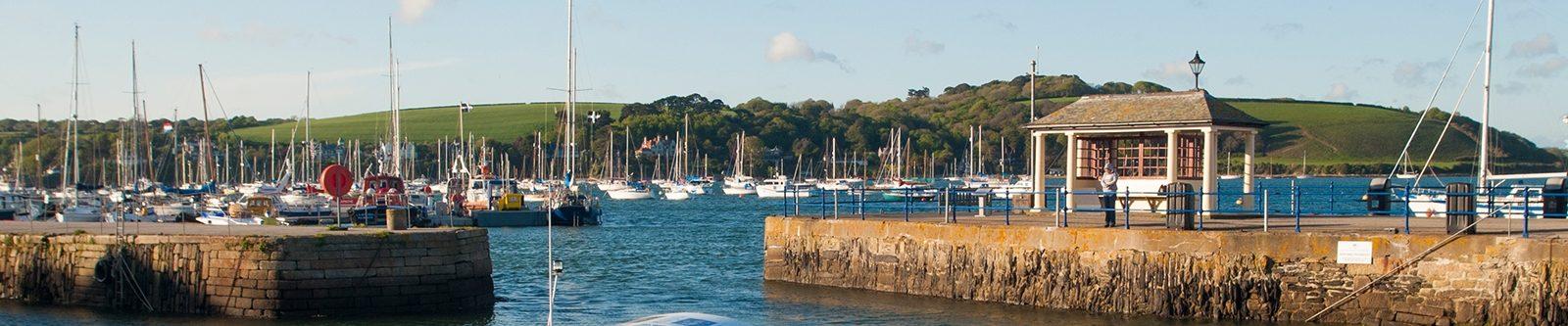 yachts at Falmouth
