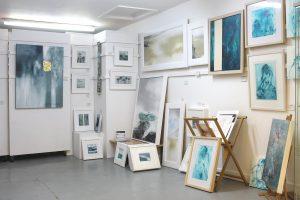 art studio in St Ives