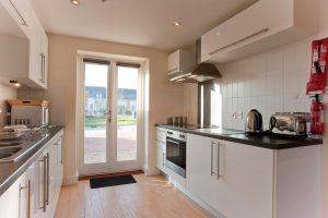 bay retreat cooking facilities