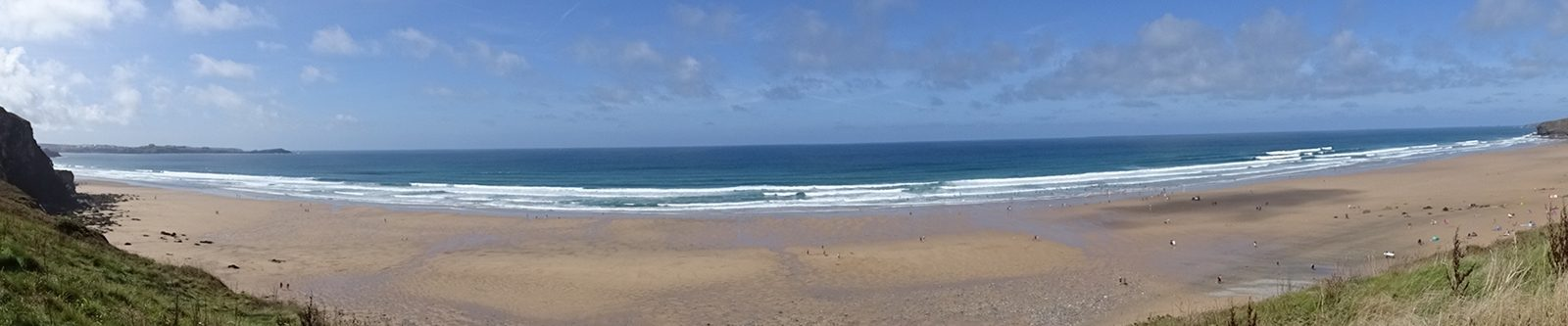 Watergate Bay panoramic