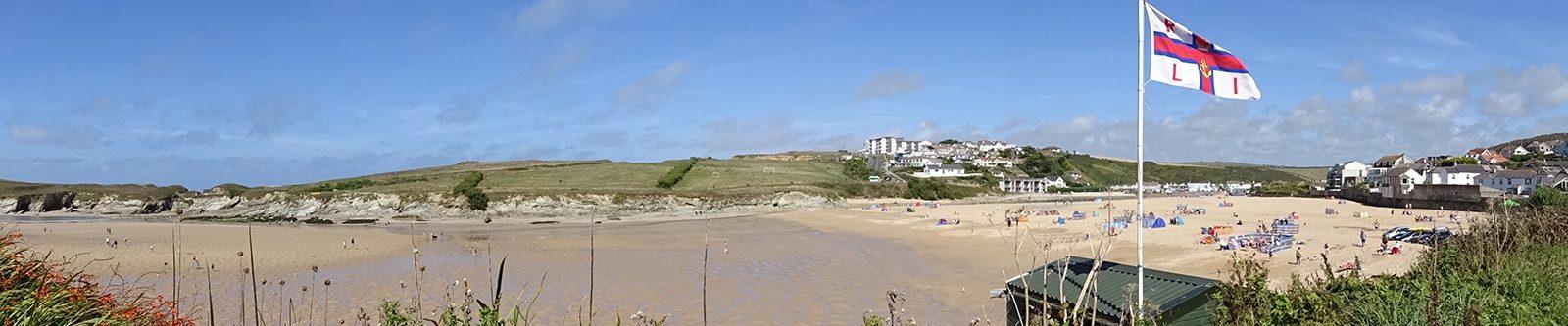 beach at Porth