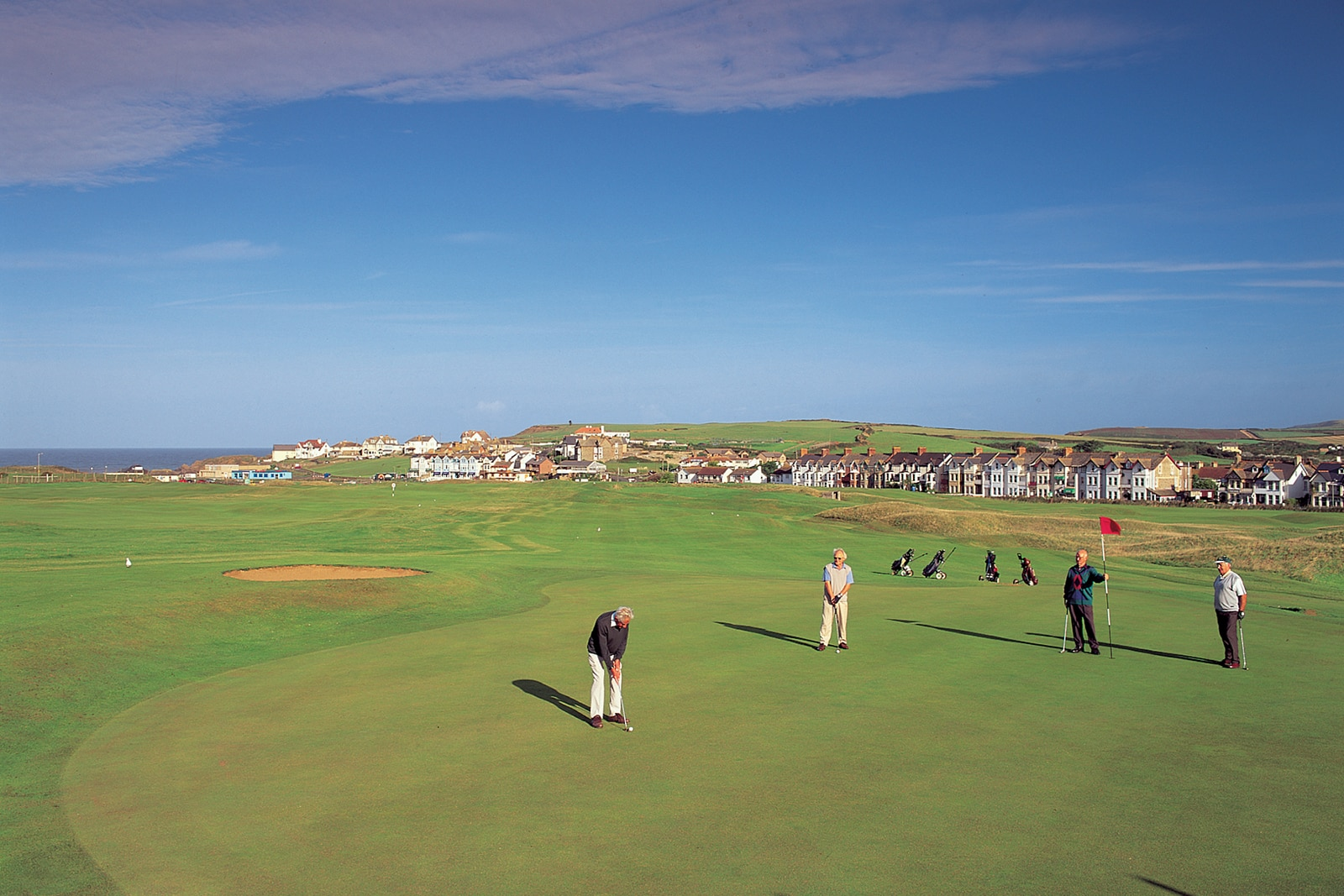 golf course in bude
