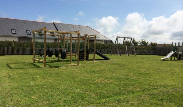 Children's play area at St Merryn Park