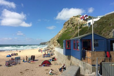 watergate bay hut