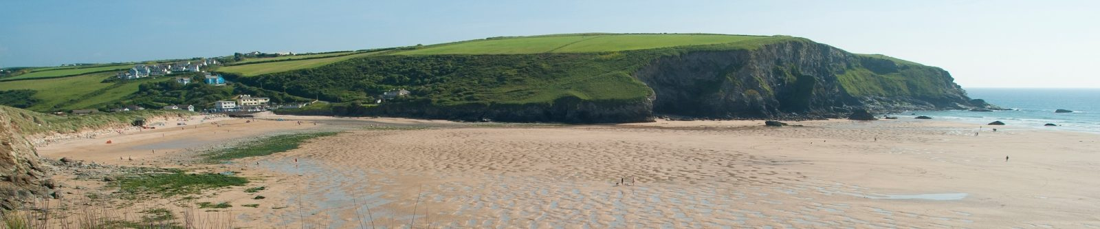 headland at Mawgan Porth