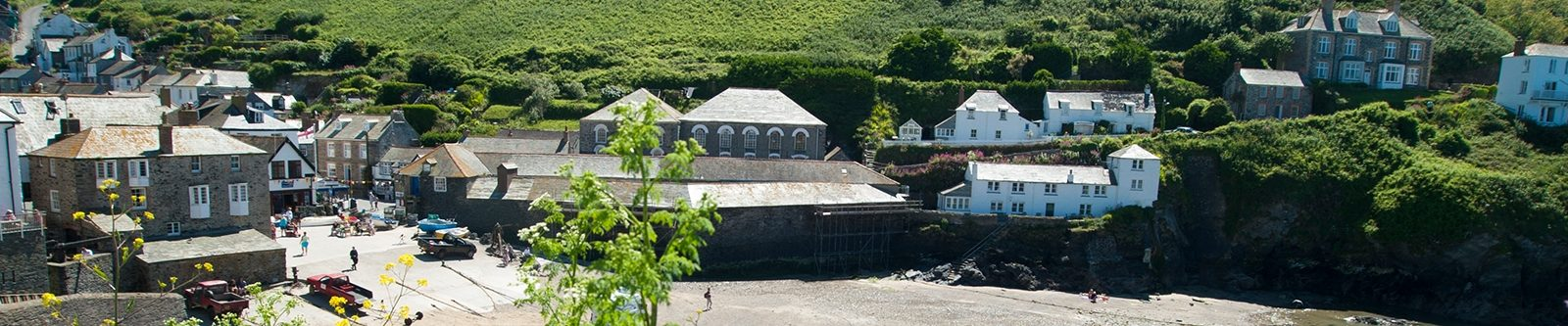 buildings in Port Isaac