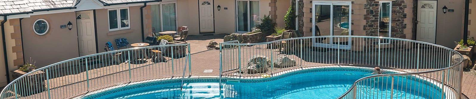 porth veor hotel swimming pool