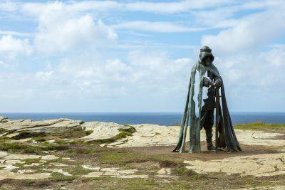 Tintagel statue