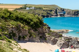beach at Mother Iveys Bay