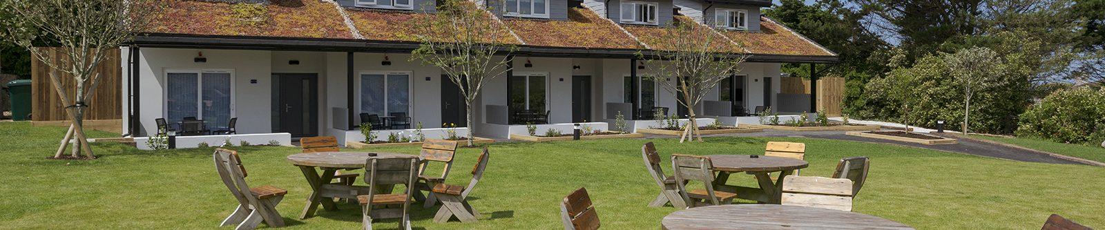 1-bed villas exterior