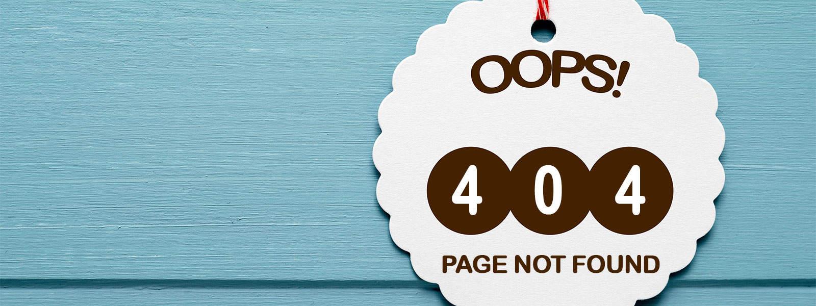 Error 404 page not found image