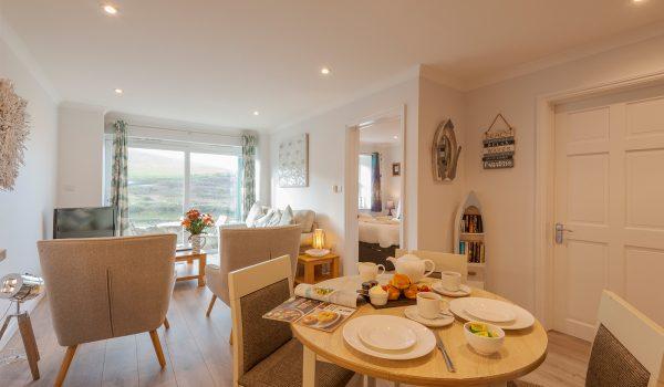 Living area and bedroom 20 Beachcombers