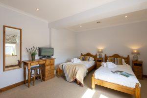 Penthouse twin bedroom